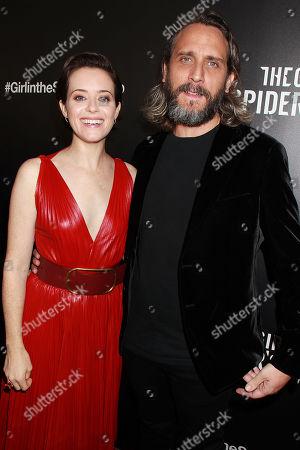 Claire Foy and Fede Alvarez Â