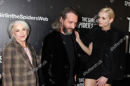 Elizabeth Cantillon, Fede Alvarez and Andreja Pejic