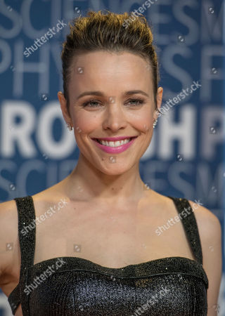 Rachel McAdams arrives at the 7th annual Breakthrough Prize Ceremony at the NASA Ames Research Center on in Mountain View, California