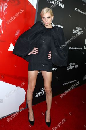 Editorial photo of 'The Girl in the Spider Web' special screening, New York, USA - 04 Nov 2018