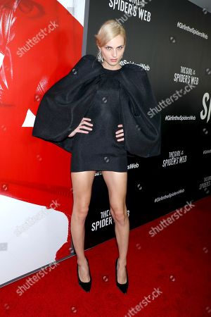 Editorial picture of 'The Girl in the Spider Web' special screening, New York, USA - 04 Nov 2018