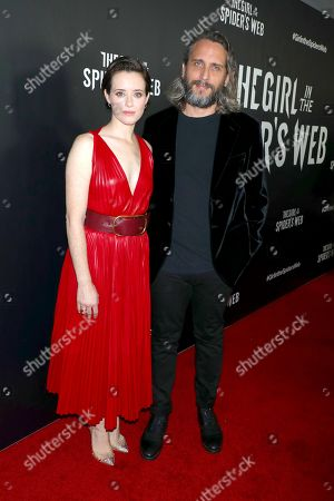 Claire Foy and Fede Alvarez, director