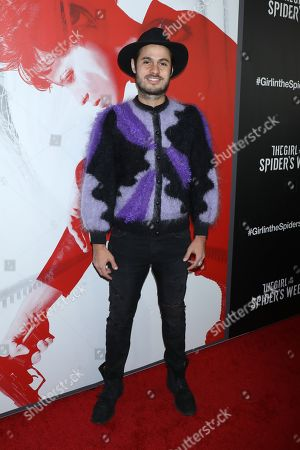 Editorial image of 'The Girl in the Spider Web' special screening, New York, USA - 04 Nov 2018