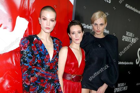 Sylvia Hoeks, Claire Foy and Andreja Pejic
