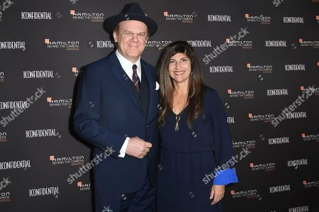John C. Reilly, Alison Dickey. John C. Reilly, left, and Alison Dickey attend the 10th annual Hamilton Behind the Camera Awards at Exchange LA, in Los Angeles