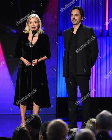 Sergey Brin, Lucy Hawking
