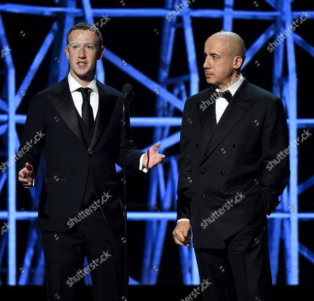 Yuri Milner, Mark Zuckerberg