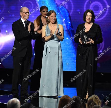 Angelika Amon, Ron Howard, Susan Wojcicki