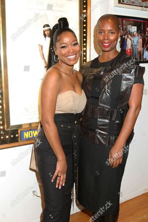 Stock Picture of Keke Palmer & Sidra Smith