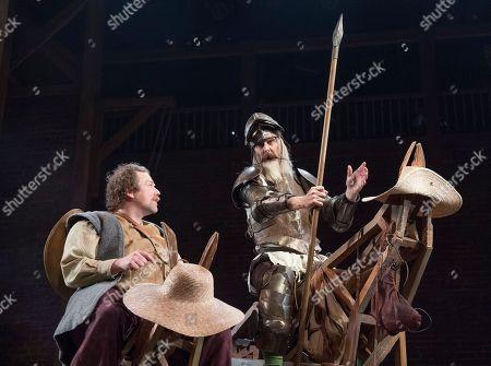 Rufus Hound as Sancho Panza, David Threlfall as Don Quixote