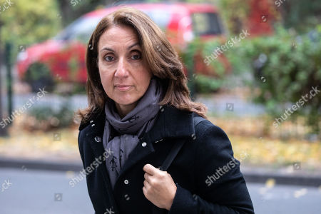 Former deputy chairwoman of the German Socialist Democratic Party (SPD), Aydan Ozoguz arrives for an extraordinary meeting of the Social Democratic Party (SPD) board at the SPD headquarters in Berlin, Germany, 05 November 2018. The SPD leadership met to discuss the political future of the party, amid weak turnouts in recent local state elections in Bavaria and Hesse.