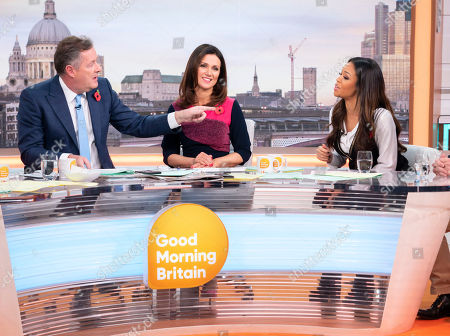 Piers Morgan, Susanna Reid and Sarah-Jane Crawford