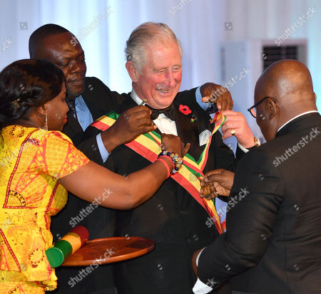 Prince Charles and Camilla Duchess of Cornwall tour of Ghana, Day 4