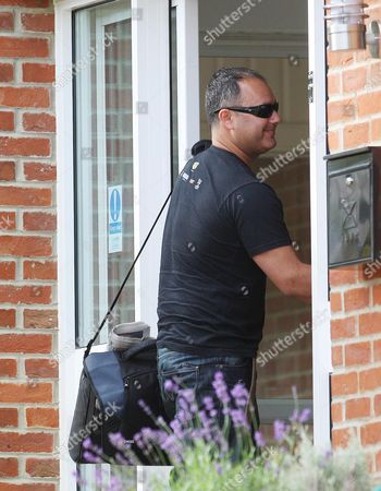 Ronnie's Son, Michael Biggs, arriving at a Nursing Home in North London