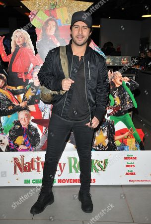 Editorial picture of 'Nativity Rocks!' gala film screening, Leicester Square, London, UK - 04 Nov 2018