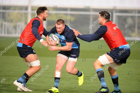 Stuart Hogg - Scotland full back is back training with the squad ahead of Saturday?s test match against Fiji at Murrayfield Stadium.