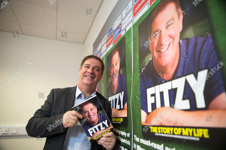 Stock Image of Former St Mirren Captain and manager now Chief executive launches his own book