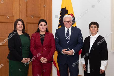 Editorial photo of Steinmeier meets Islamic human rights activists, Berlin, Germany - 05 Nov 2018