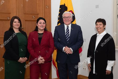 Editorial picture of Steinmeier meets Islamic human rights activists, Berlin, Germany - 05 Nov 2018