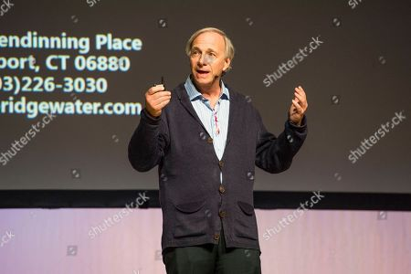 Ray Dalio seen on day three of Summit LA18 in Downtown Los Angeles, in Los Angeles
