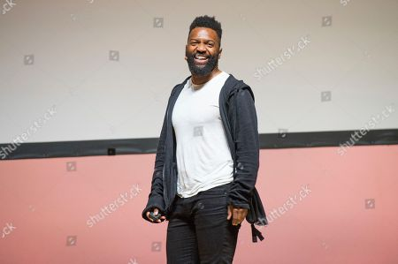 Stock Photo of Baratunde Thurston seen on day three of Summit LA18 in Downtown Los Angeles, in Los Angeles