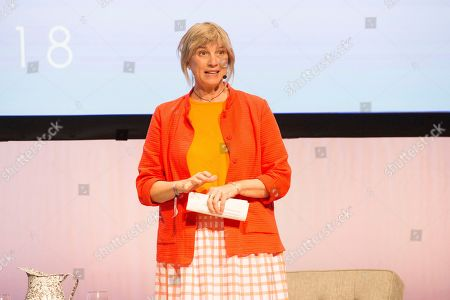 Mary Sue Milliken seen on day three of Summit LA18 in Downtown Los Angeles, in Los Angeles