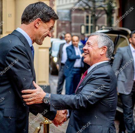 King Abdullah II of Jordan visit to the Netherlands