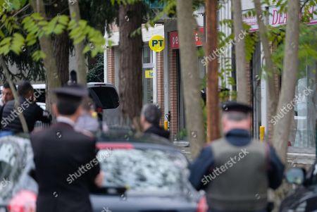 Editorial picture of Ndrangheta convict takes hostages in a post office, Reggio Emilia, Italy - 05 Nov 2018