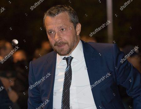 Fulham manager Slavisa Jokanovic arrives