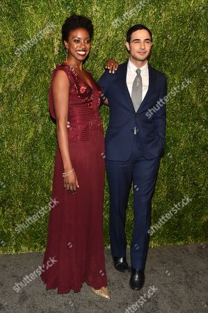 Condola Rashad and Zac Posen
