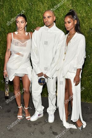Stock Picture of Lourdes Maria Ciccone Leon, Raul Lopez, and Vashtie Kola