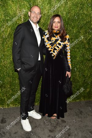 Editorial image of 15th Annual CFDA Vogue Fashion Fund Awards, Arrivals, New York, USA - 05 Nov 2018