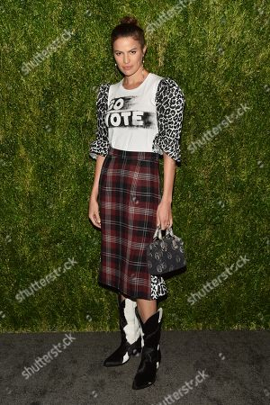 Editorial picture of 15th Annual CFDA Vogue Fashion Fund Awards, Arrivals, New York, USA - 05 Nov 2018