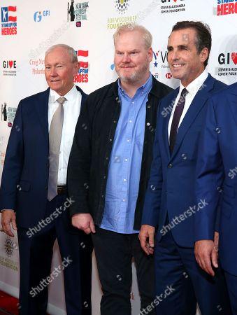 General Martin Dempsey, Jim Gaffigan and Bob Woodruff