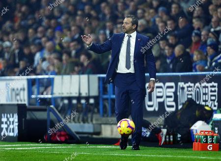 Fulham manager Slavisa Jokanovic issues instructions