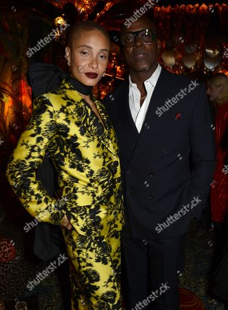Adwoa Aboah and Charles Aboah