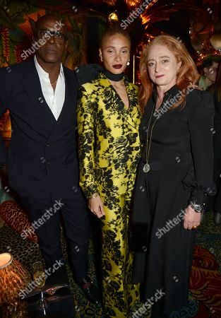 Charles Aboah, Adwoa Aboah and Camilla Lowther
