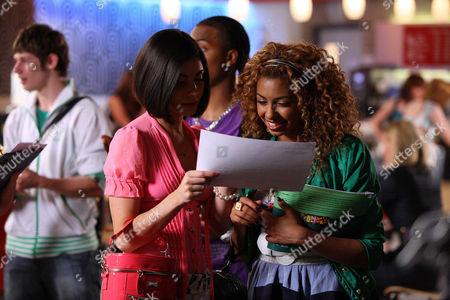 'Britannia High'  TV - 2008 -   Lola [Rana Roy] and Claudine [Sapphire Elia]