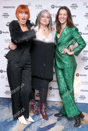 Stock Picture of Mary Portas, Emma Banks and Melanie Rickey