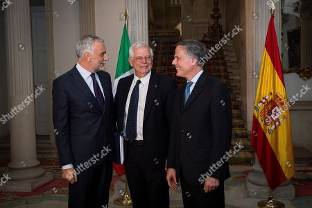 Editorial photo of Spanish Foreign Affairs minister meets with his Italian counterpart, Enzo Moavero, Madrid, Spain - 05 Nov 2018