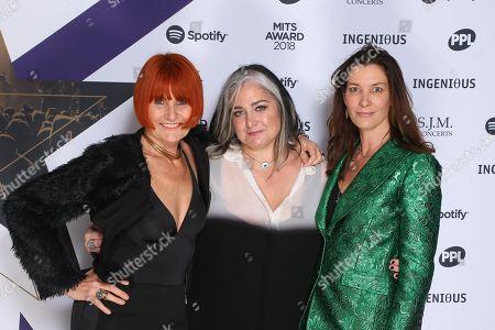 Mary Portas, Emma Banks and Melanie Rickey