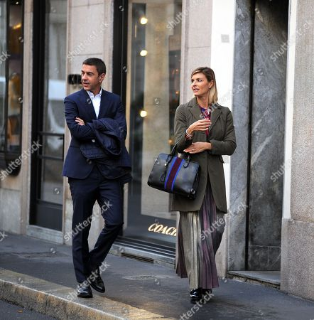 Alessandro Costacurta and Martina Colombari