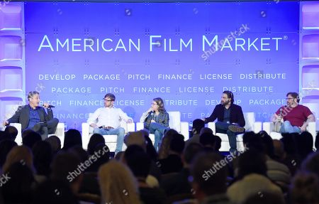 Editorial picture of American Film Market, Day 6, Los Angeles, USA - 05 Nov 2018