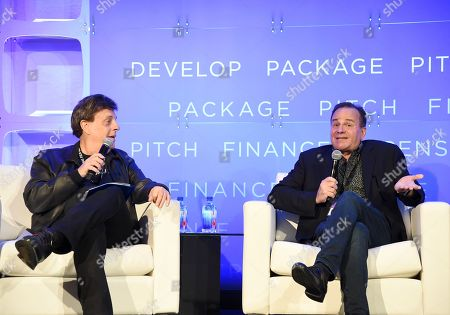 Paul Hertzberg, President & CEO, CineTel Films, Inc., and Paul Bales, Partner, The Asylum