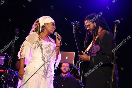 Editorial photo of Malou Beauvoir's Record Release Party at DROM for 'Spiritwalker', New York, USA - 01 Nov 2018