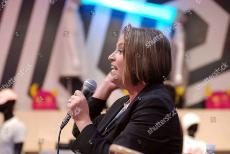 New Mexico Democratic gubernatorial candidate and U.S. Rep. Michelle Lujan Grisham gives a campaign speech in Santa Fe, N.M., Lujan Grisham is competing against Republican U.S. Rep. Steve Pearce of Hobbs. Republican Gov. Susana Martinez cannot run for a consecutive third term
