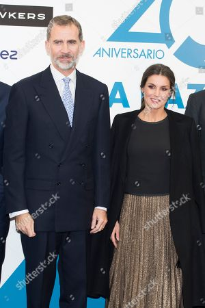 'La Razon' newspaper 20th anniversary celebration, Madrid