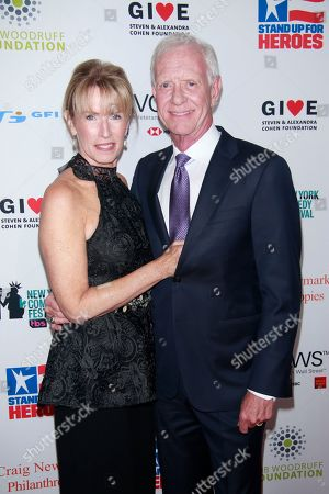 Lori Sullnberger and Captain Chesley Sullenberger