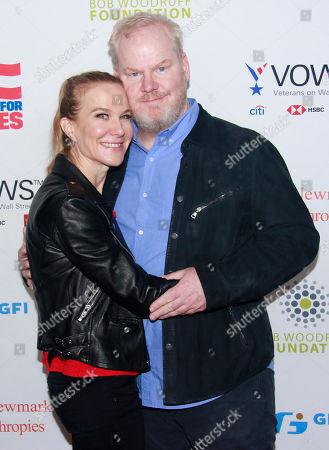 Jeannie Gaffigan and Jim Gaffigan
