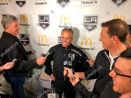 Editorial picture of Kings-Desjardins Hockey, Los Angeles, USA - 05 Nov 2018